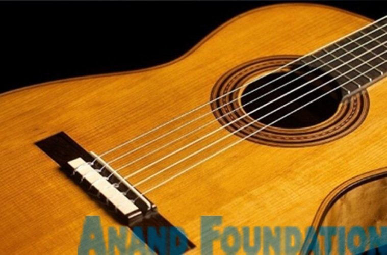Jaspal Singh, a Classical Guitarist from Delhi, Anand Foundation