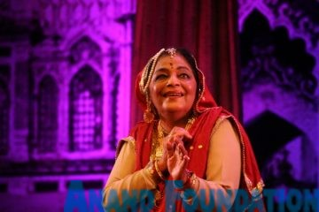 Uma Sharma, a Kathak Dancer from Delhi, Anand Foundation