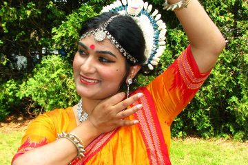 Srabonti Bandyopadhyay, an Odissi dancer, Anand Foundation