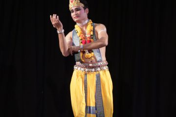 Kishan Manocha, an Odissi Dancer, Anand Foundation